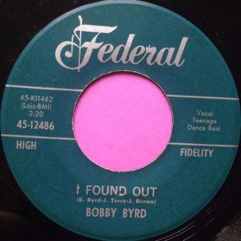 Bobby Byrd- I found out- Federal E+