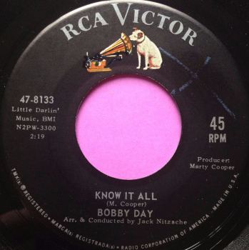Bobby Day - Know it all - RCA - E+