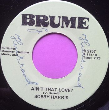 Bobby Harris-Ain`t that love-Brume wol M-