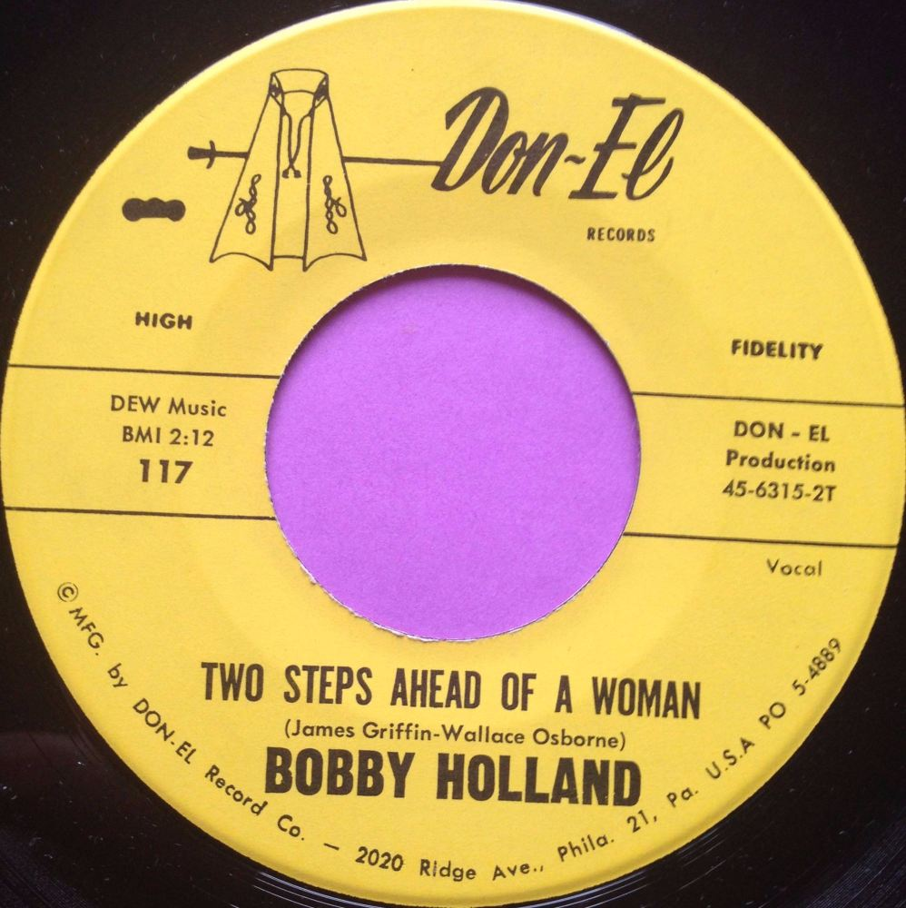 Bobby Holland- Two steps ahead of a woman- Don-el E+