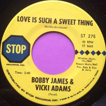 Bobby James & Vicki Adams- Love is such a sweet thing- Stop E+