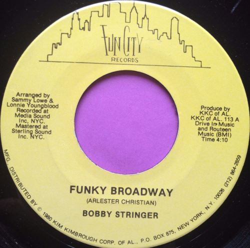 Bobby Stringer-Funky Broadway-Fun city E+