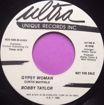 Bobby Taylor-Gypsy Woman-Ultra E+
