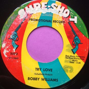 Bobby Williams-Try love-Sureshot E-