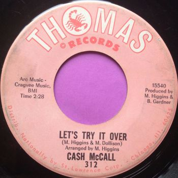 Cash McCall-Let`s try it over-Thomas E
