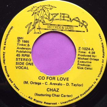 Chaz-Go for love-Zanzibar E