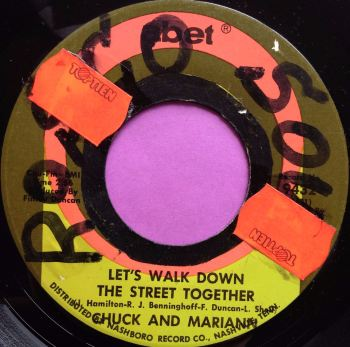 Chuck and Mariann-Lets walk down the street together-Abet wol  E