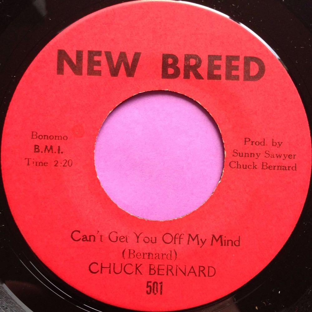 Chuck Bernard- Can't get you off my mind- New Breed E+