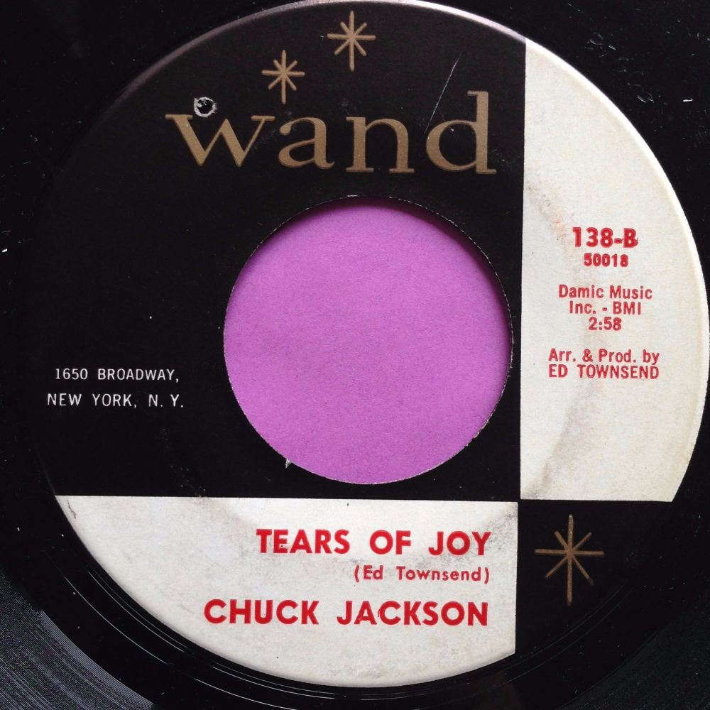 Chuck Jackson-Tears of joy-Wand E+