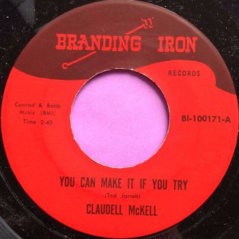 Claudell McKell-Experience is the best teacher-Branding iron M-