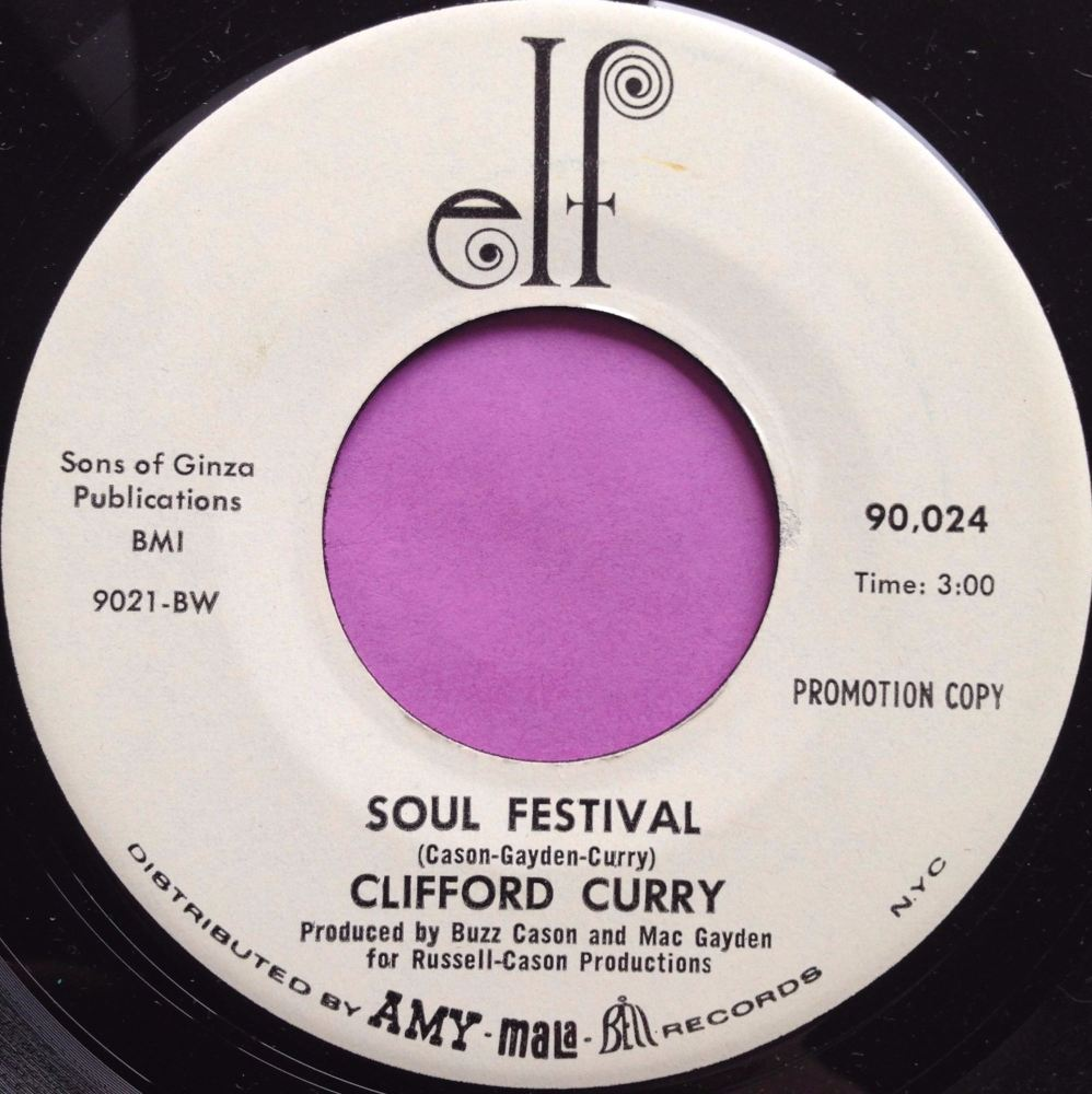 Clifford Curry- Soul Festival- elf WD M-
