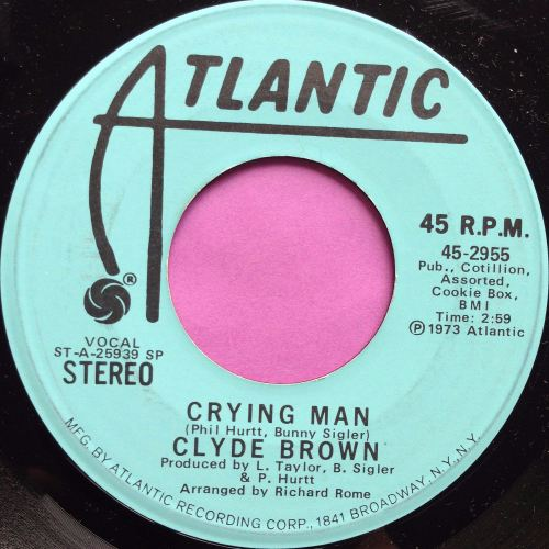 Clyde Brown-Crying man-Atlantic WD M