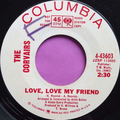Corvairs- Love, love my friend- Columbia WD WOL E+
