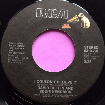 David Ruffin & Eddie Kendrick-I couldn`t believe it-RCA E+