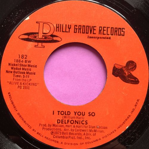 Delfonics-I told you so-Philly groove E+