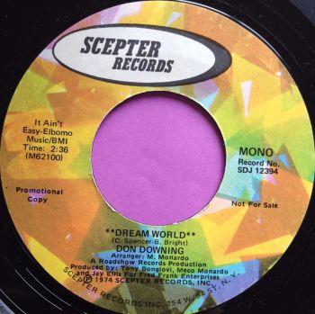 "Don Downing-Dream world""-Scepter E+"