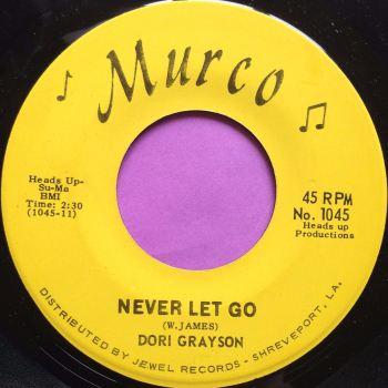 Dori Grayson-Never let go-Murco M-