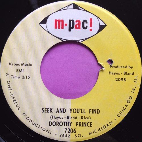 Dorothy Prince-Seek and you`ll find-Mpac E+