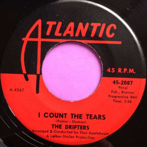 Drifters-I count the tears-Atlantic E+