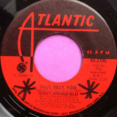 Dusty Springfield-Silly silly fool-Atlantic E-