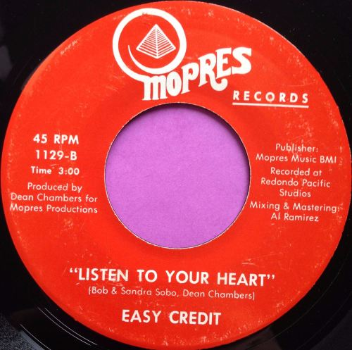 Easy credit - Listen to your heart - Mopres - E+