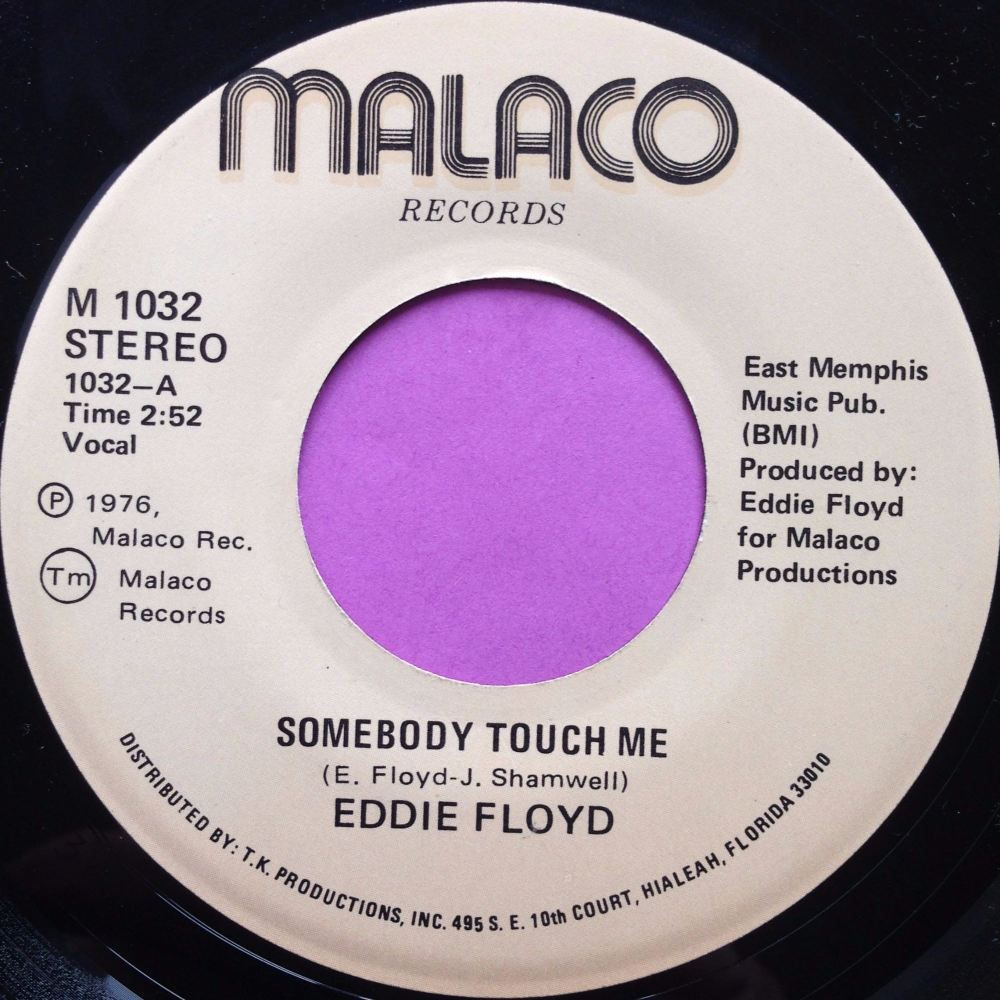 Eddie Floyd-Somebody told me-Malaco E+