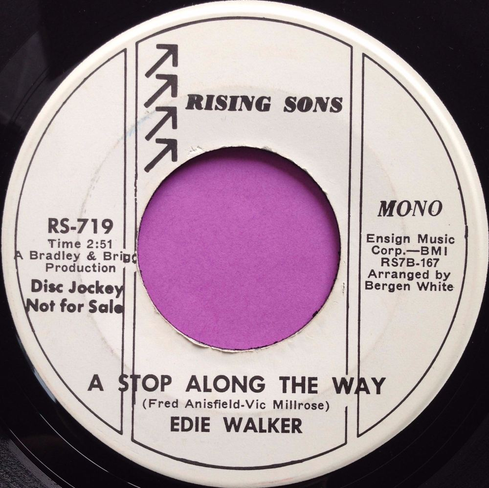 Eddie Walker- A stop along the way- Rising Sons WD E