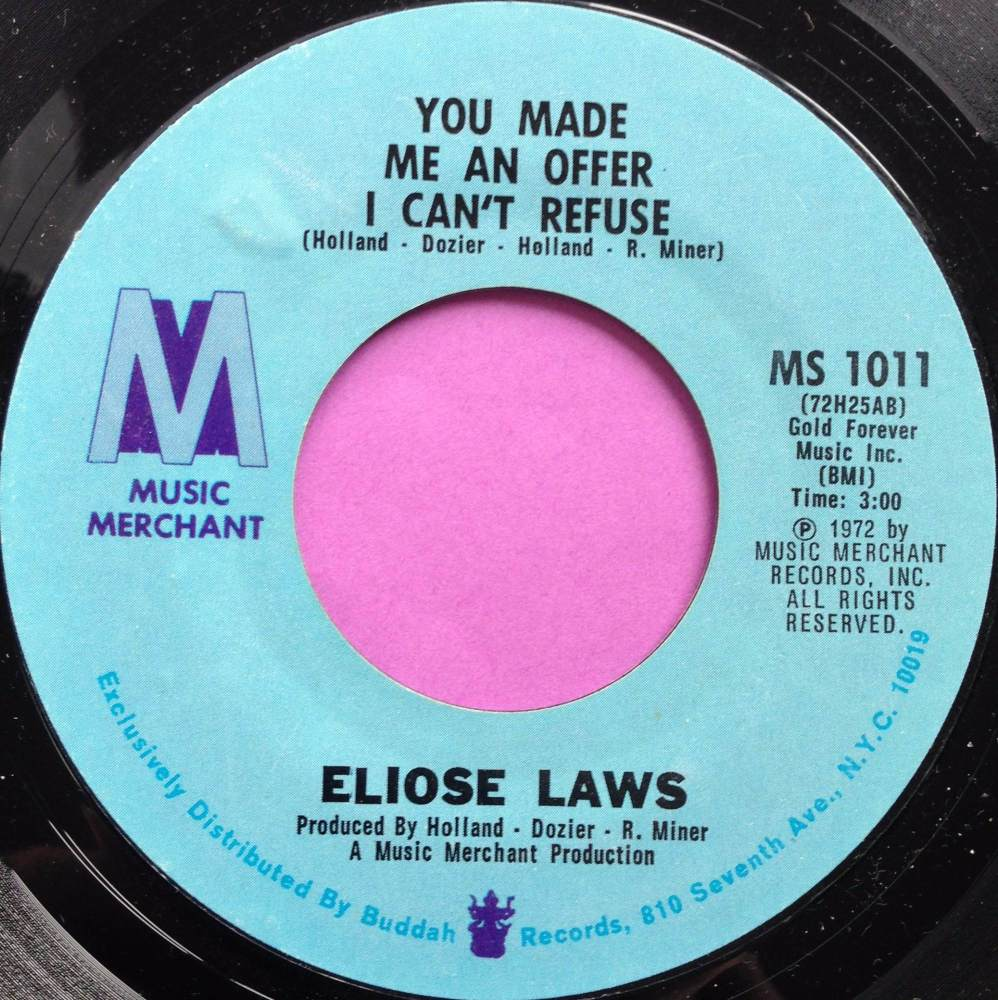 Eloise Laws-You made me an offer...-Music merchant E+