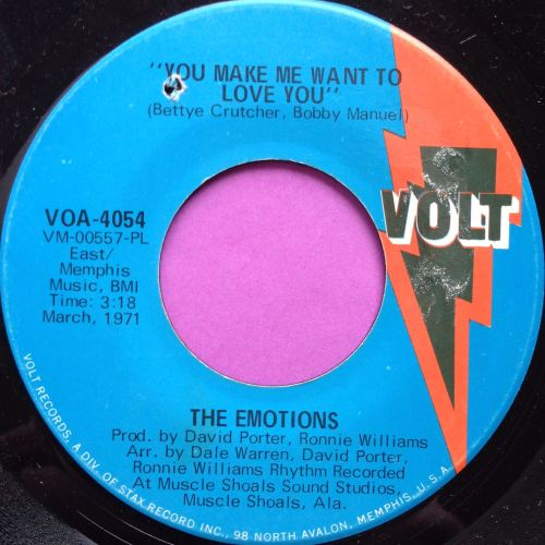Emotions-You make me want to love you-Volt E+