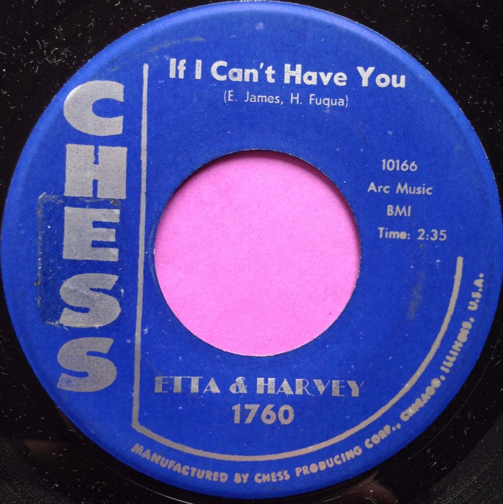 Etta & Harvey- If I can't have you- Chess M-