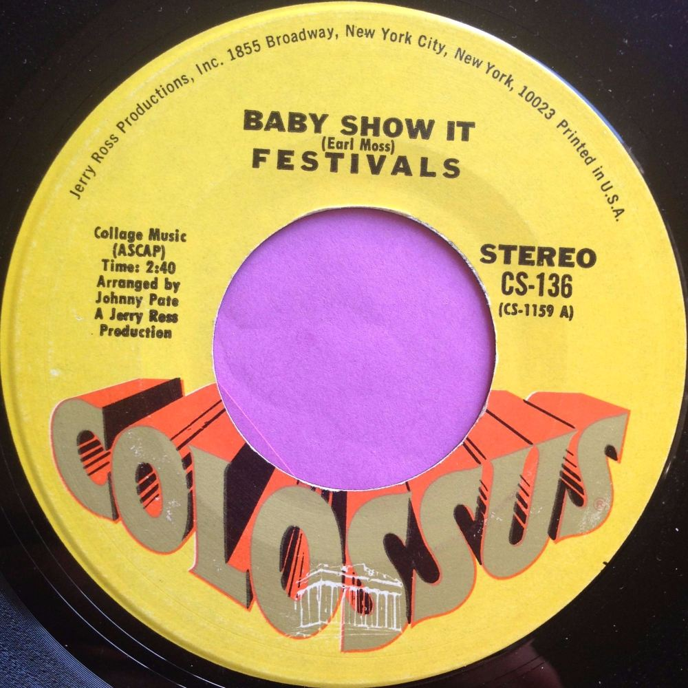 Festivals - Baby show it - Colossus - E+