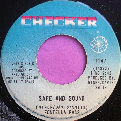 Fontella Bass-Safe and sound-Checker E+