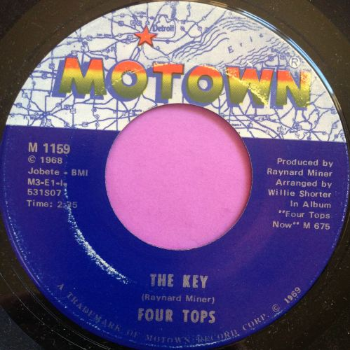 Four Tops-The key-Motown E+