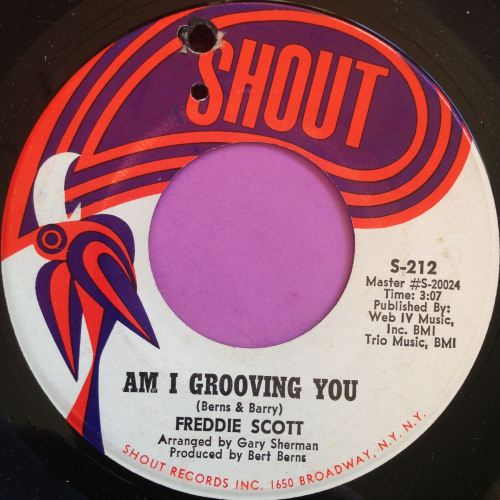 Freddie Scott-Am I grooving you-Shout M