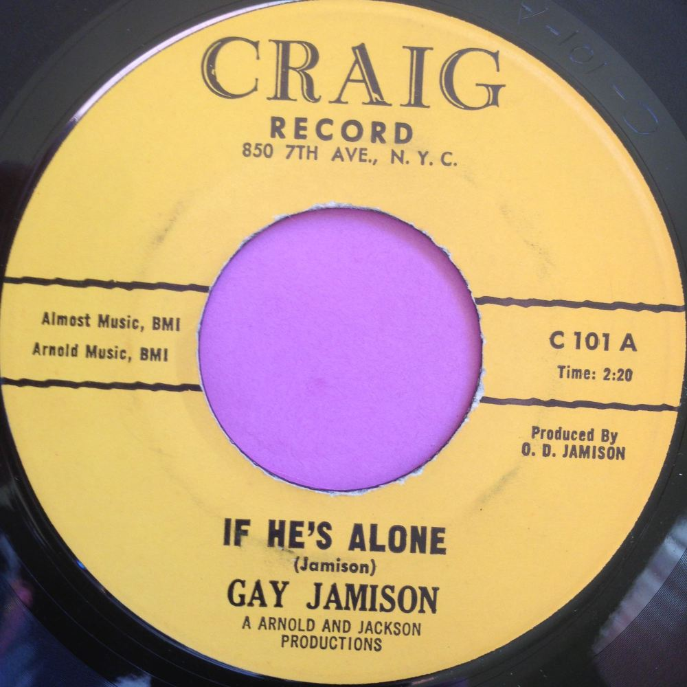 Gay Jamison - If he's alone - Craig - E