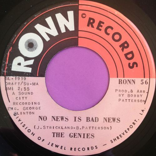 Genies - No news is bad news - RONN - E+
