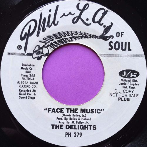 Delights-Face the music-Phila-of soul WD E+