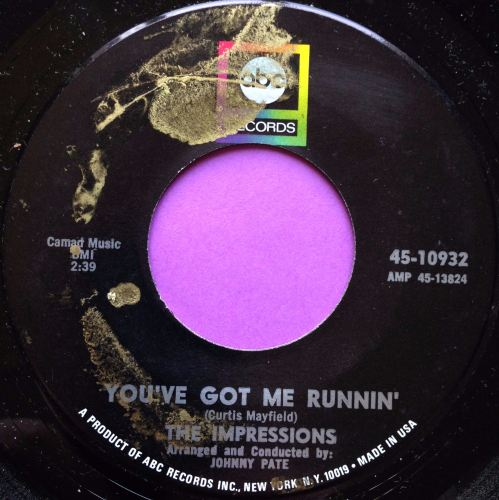 Impressions-You`ve got me running-ABC M-