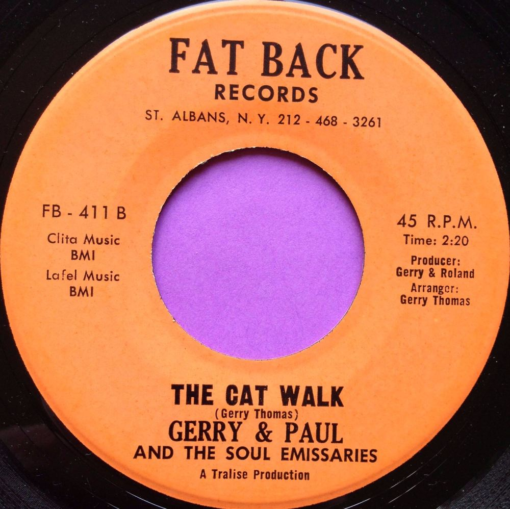 Gerry and Paul-The cat walk-Fat back E+