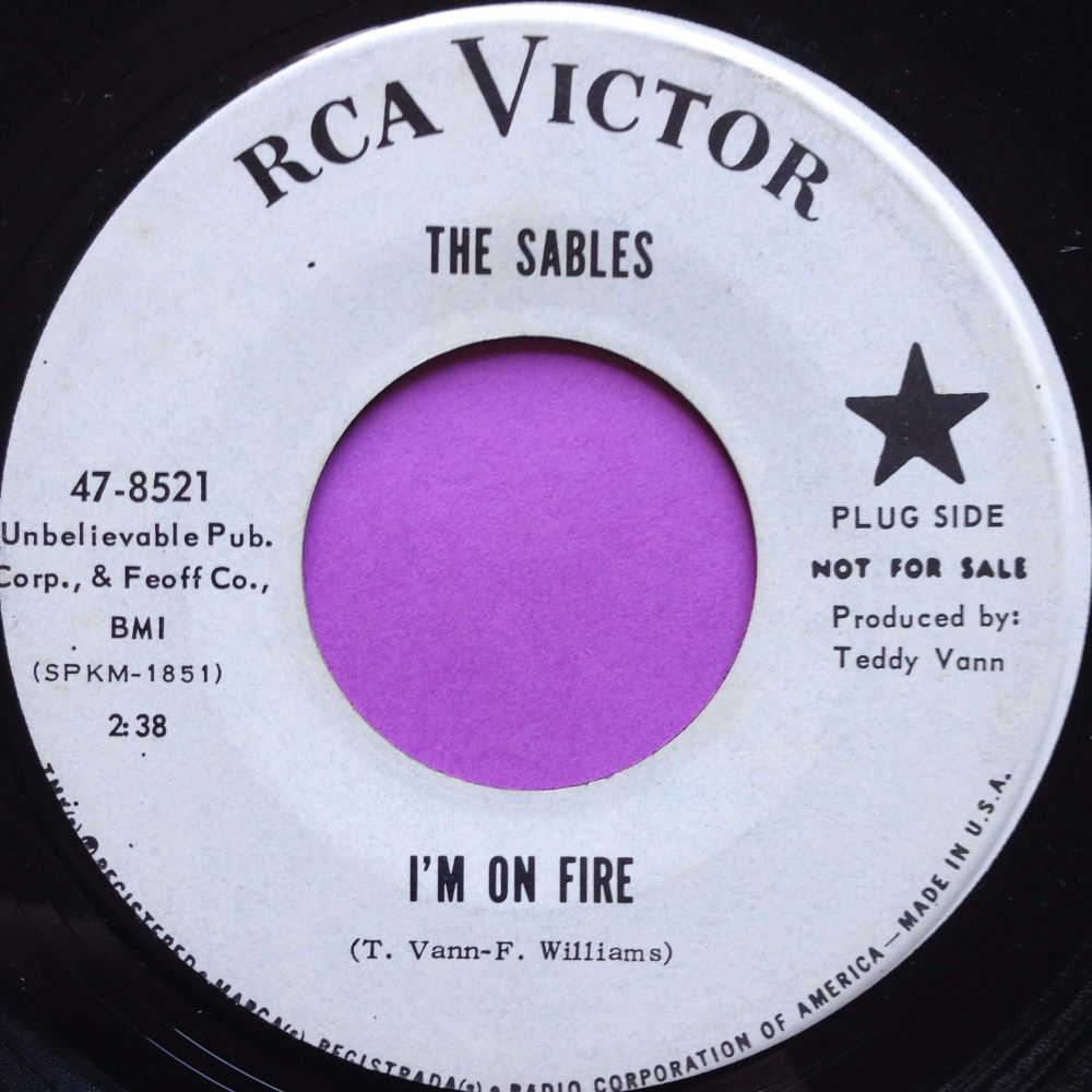 Sables-I`m on fire-RCA E+
