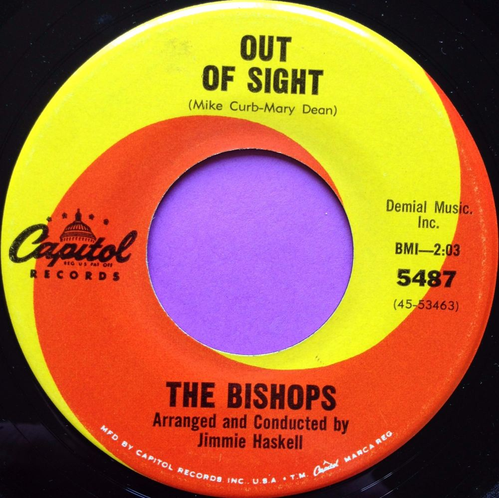 Bishops-Out of sight-Capitol E+