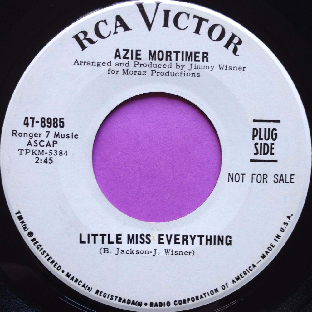Azie mortimer-Little Miss Everything-RCA WD E+