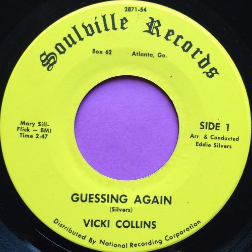 Vicki Collins-Guessing again-Soulville E+