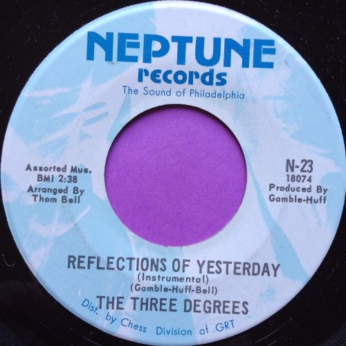 Three Degrees-Reflections of yesterday-Neptune E+