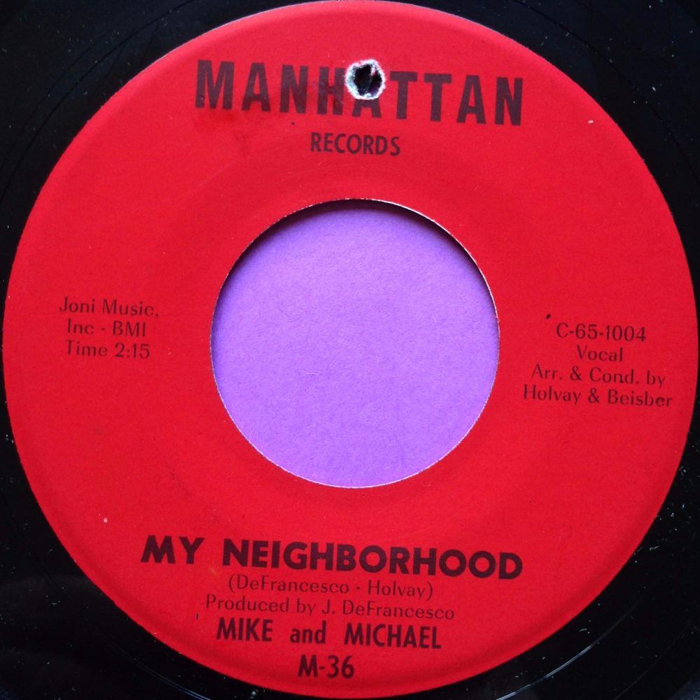 Mike and Michael-Mt Neighbourhood-Manhattan E+