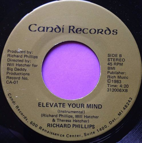 Richard Phillips-Elevate your mind-Candi E+