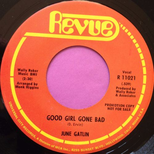 June Gatlin-Good girl gone bad-Revue M-