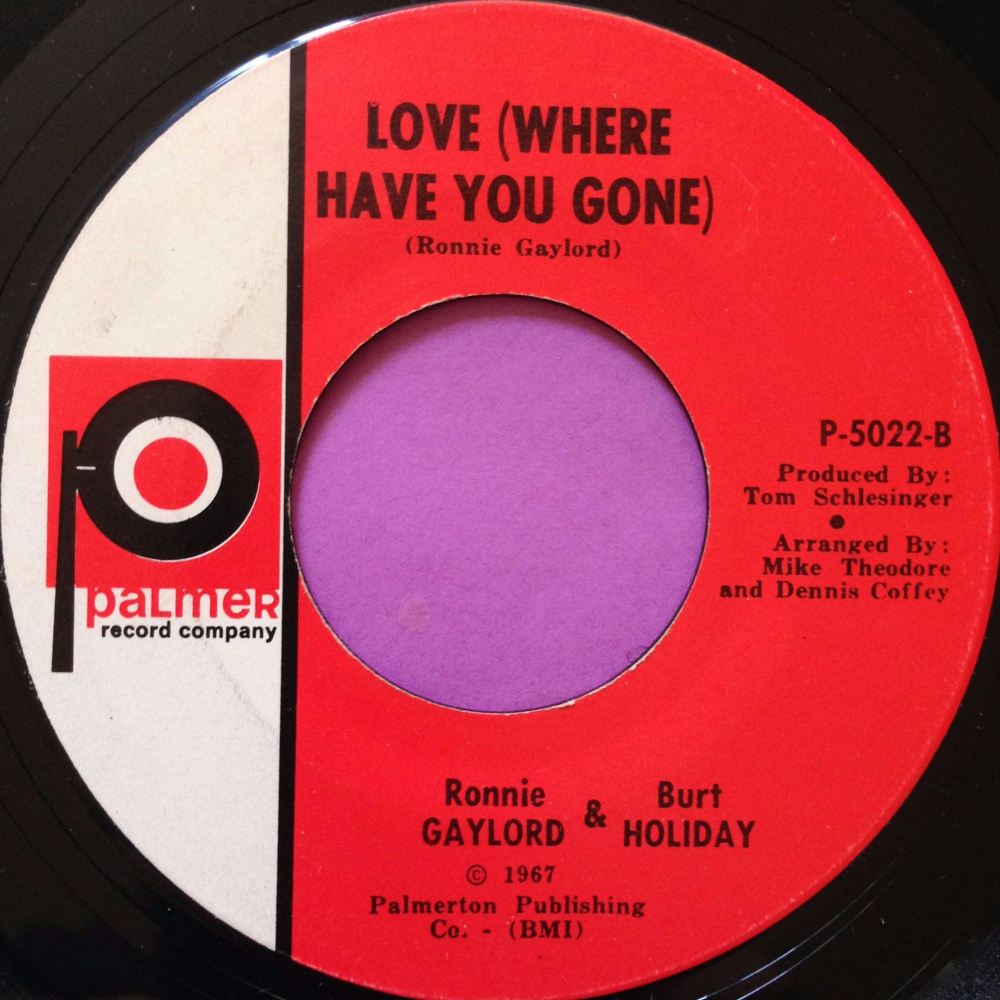 Gaylord and Holiday-Love where have you gone-Palmer E+