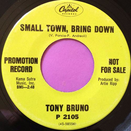 Tony Bruno-Small town, bring down-Capitol Demo M-