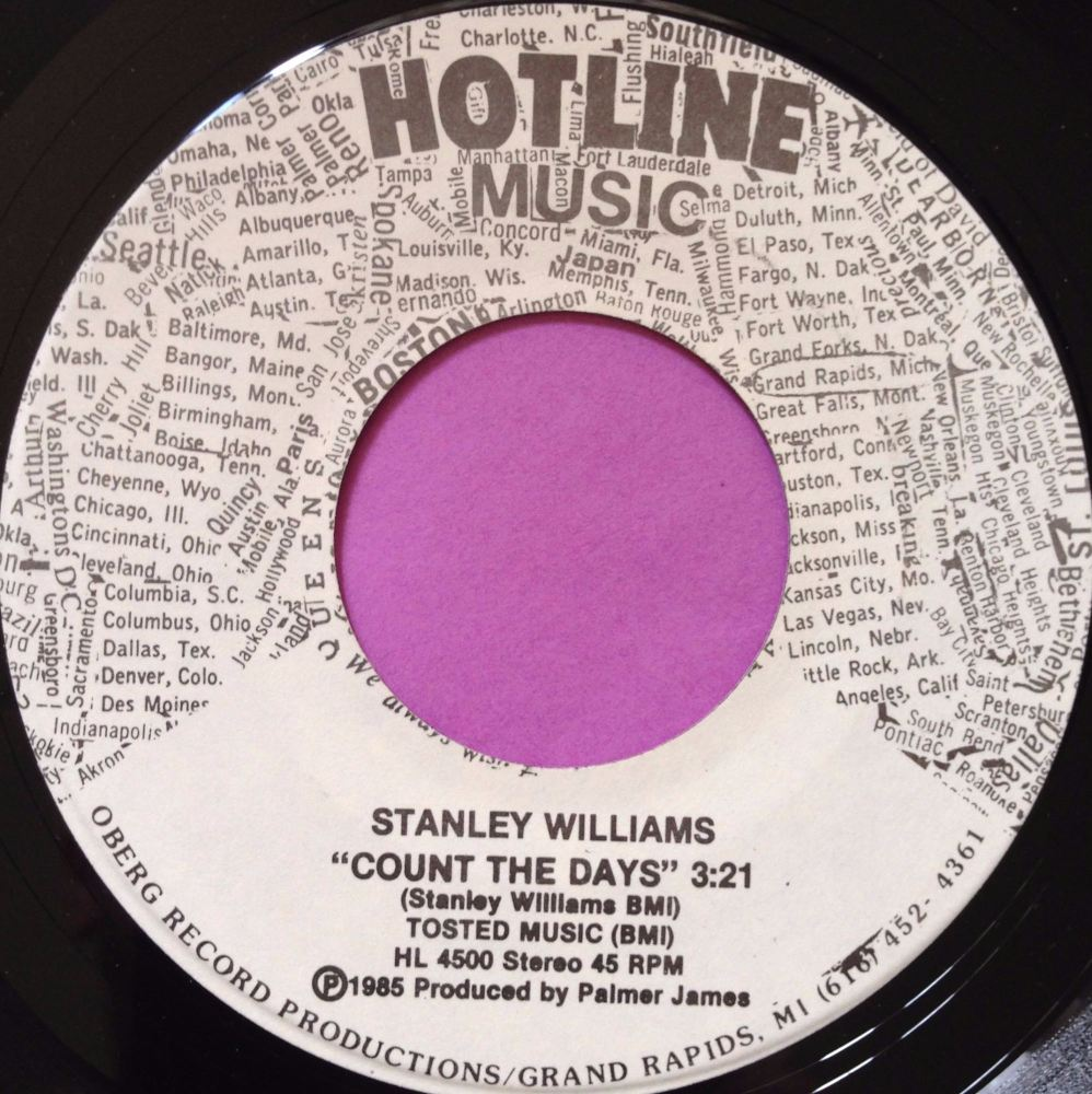 Stanley Williams-Count the days-Hotline M-